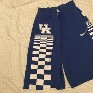 UK Nike Basketball shorts